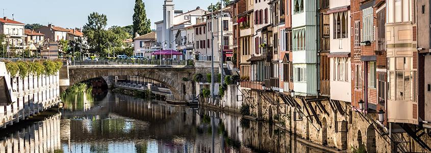 Castres, une jolie commune d'Occitanie, pour réaliser un placement immobilier
