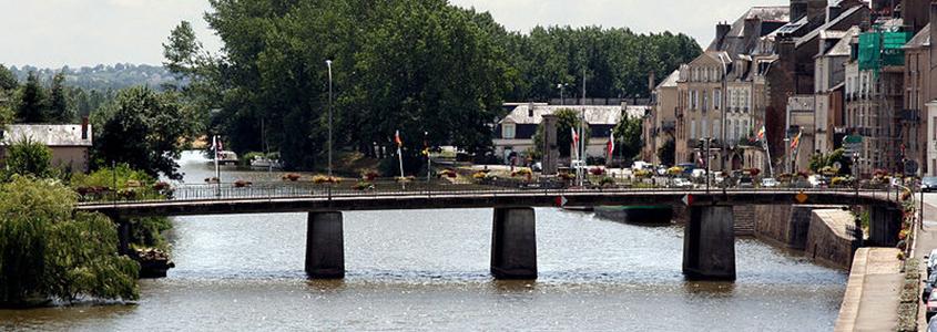 Ville de Redon en Ille-et-Vilaine