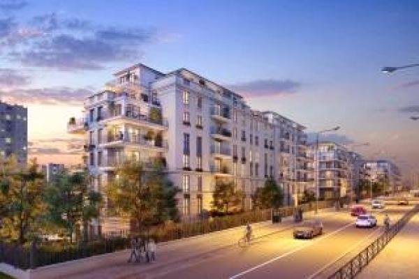 Perspective du bien immobilier neuf LES JARDINS BALZAC BAT 2 (Argenteuil - 95)