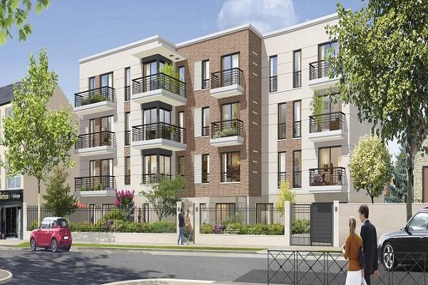 Perspective du bien immobilier neuf INTIMI'T - SARCELLES (Sarcelles - 95)
