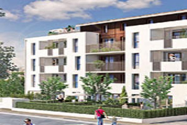 Perspective du bien immobilier neuf Résidence L'Azuria (Toulouse - 31)