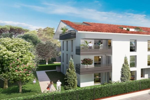 Perspective du bien immobilier neuf Le Parc de Lardenne (Toulouse - 31)