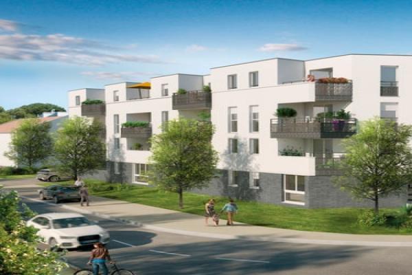 Perspective du bien immobilier neuf Carré Atlanta (Toulouse - 31)