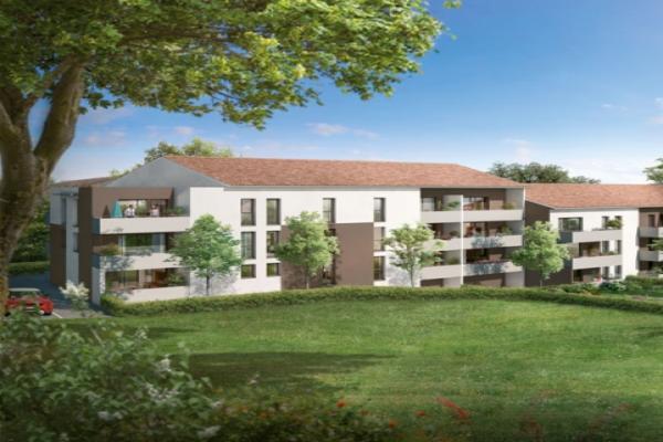 Perspective du bien immobilier neuf Les Jardins de Saint-O (Saint-orens-de-gameville - 31)