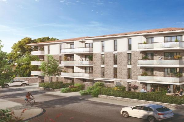Perspective du bien immobilier neuf Le Clos Marguerite Gaillac (Toulouse - 31)