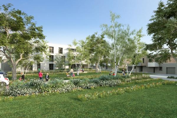 Perspective du bien immobilier neuf KANOPEE (Haubourdin - 59)
