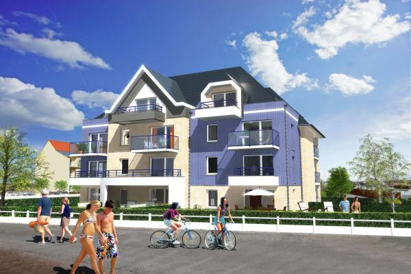 Perspective du bien immobilier neuf VILLAS DES TAMARIS (Berck - 62)