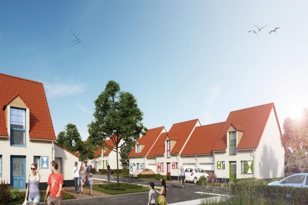 Perspective du bien immobilier neuf L'HERMIONE (Neufchatel-hardelot - 62)