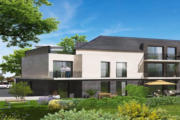Perspective du bien immobilier neuf CLOS VERDISO (Chilly-mazarin - 91)