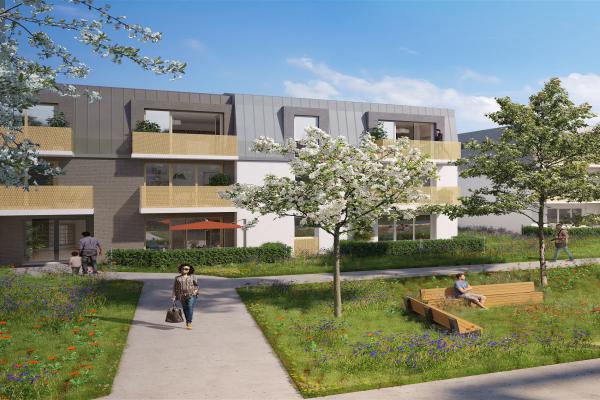 Perspective du bien immobilier neuf Gardenia (Argenteuil - 95)