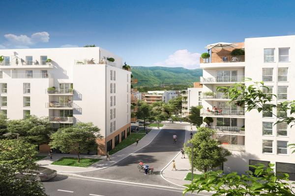 Perspective du bien immobilier neuf Grand Angle (Annecy - 74)