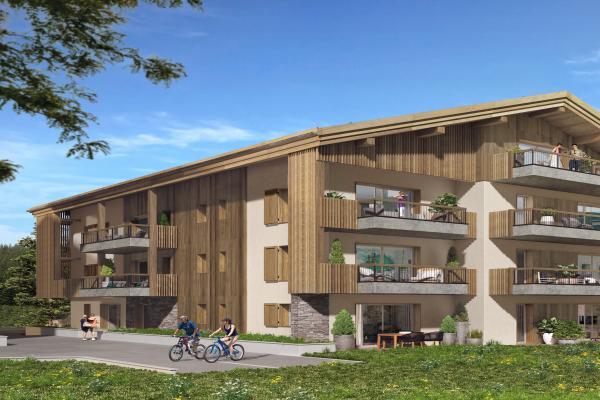 Perspective du bien immobilier neuf Le 7 (Samoens - 74)
