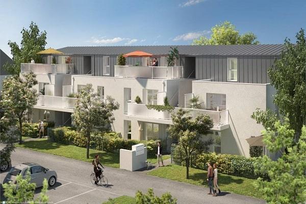 Perspective du bien immobilier neuf LES RIVES DE LUCE (Sainte-luce-sur-loire - 44)