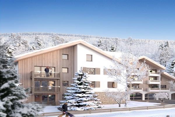Perspective du bien immobilier neuf CRISTAL LODGE (Saint-chaffrey - 05)