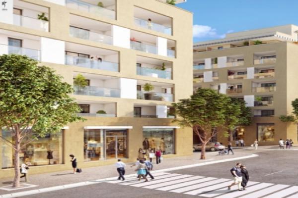 Perspective du bien immobilier neuf Nouvelle Scènes (Aix-en-provence - 13)