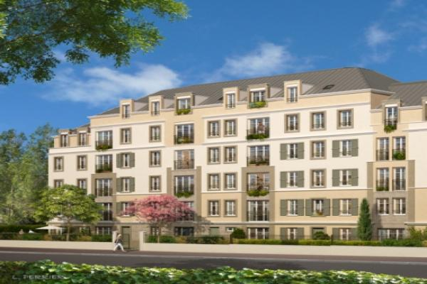 Perspective du bien immobilier neuf Villa Bonnemain  (Saint-germain-en-laye - 78)