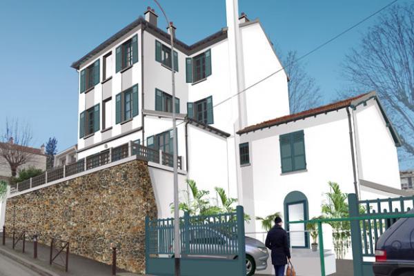Perspective du bien immobilier neuf Villa du Moulin (Creteil - 94)