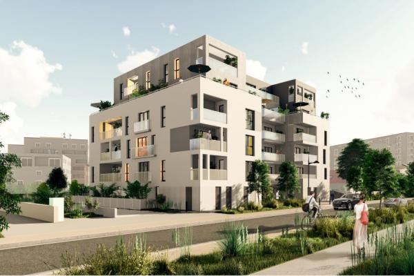 Perspective du bien immobilier neuf Les Hauts Romanet (Saint-herblain - 44)