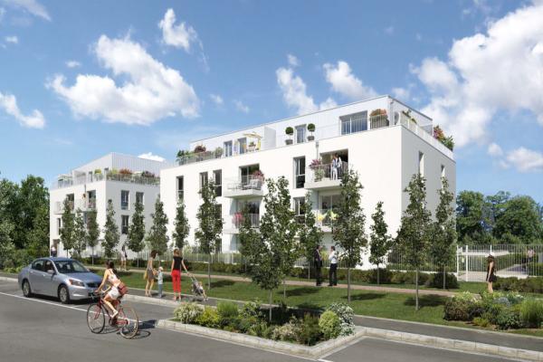 Perspective du bien immobilier neuf Les Jardins Saint-Louis (Carrieres-sous-poissy - 78)