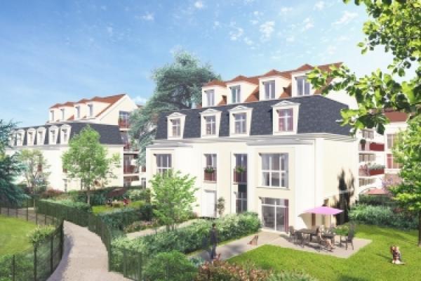 Perspective du bien immobilier neuf LE CÈDRE BLEU (Saint-leu-la-foret - 95)