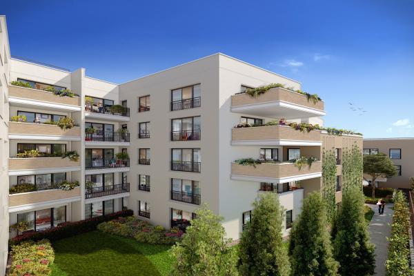 Perspective du bien immobilier neuf Arboria (Drancy - 93)