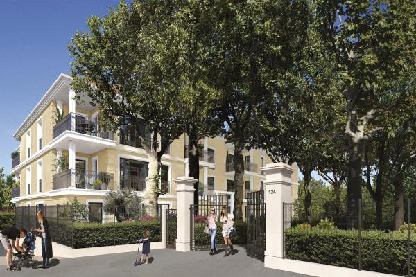 Perspective du bien immobilier neuf 124 FONTENAILLE (Aix-en-provence - 13)