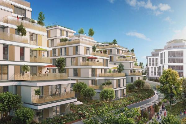 Perspective du bien immobilier neuf ISSY COEUR DE VILLE (Issy-les-moulineaux - 92)