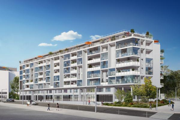 Perspective du bien immobilier neuf ICONIC (Talence - 33)