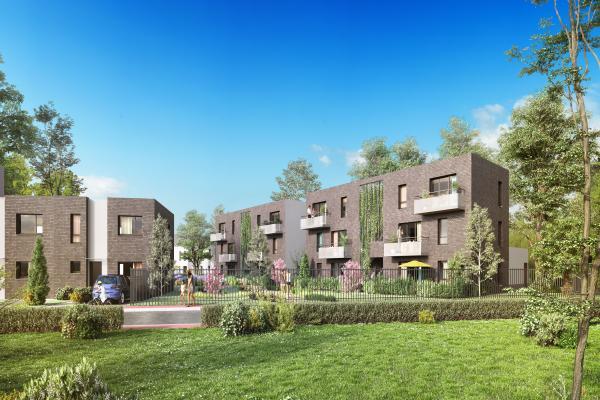 Perspective du bien immobilier neuf BEAU SEJOUR (Tourcoing - 59)