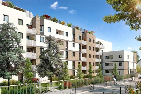 Perspective du bien immobilier neuf Pavillon 32 (Toulouse - 31)
