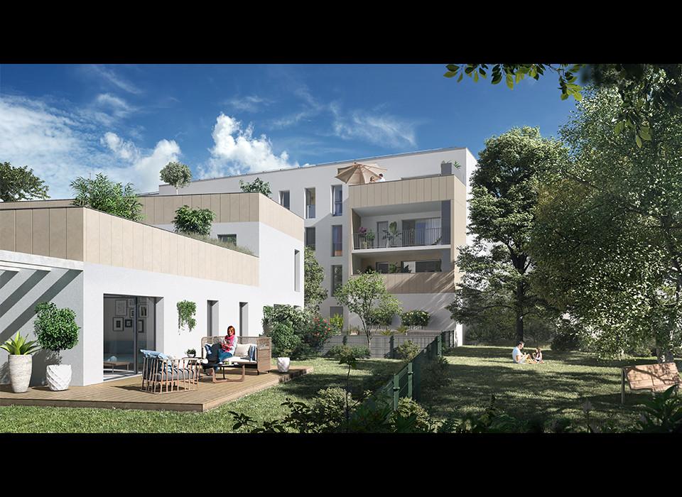 Perspective du bien immobilier neuf CARRE CAPUCINS (Bordeaux - 33)