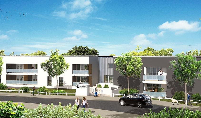 Perspective du bien immobilier neuf NAVITA (Villenave-d-ornon - 33)