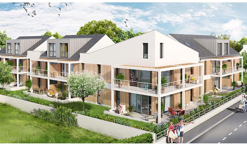 Perspective du bien immobilier neuf Villa Margaux BENODET (Benodet - 29)