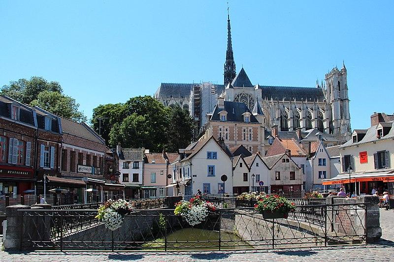 Photographie de la ville de Amiens