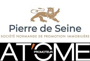 Logo du promoteur partenaire PIERRE DE SEINE / AT'OME