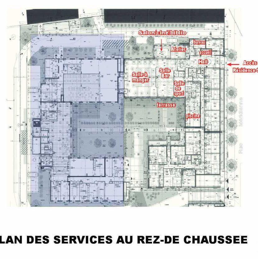 Plan 406, appartement neuf type T3 au 4ème étage, faisant 67m² du programme neuf Les Boréales à Rouen.