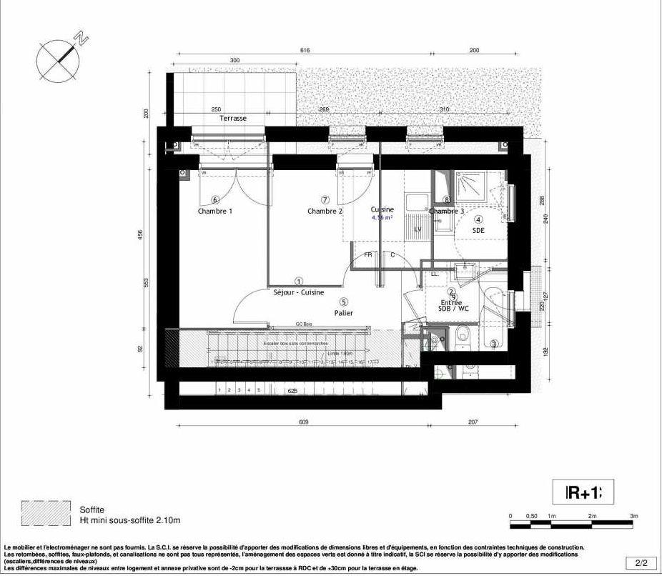Plan recadré VILL'ARBOREA ILOT 4 BAT 42