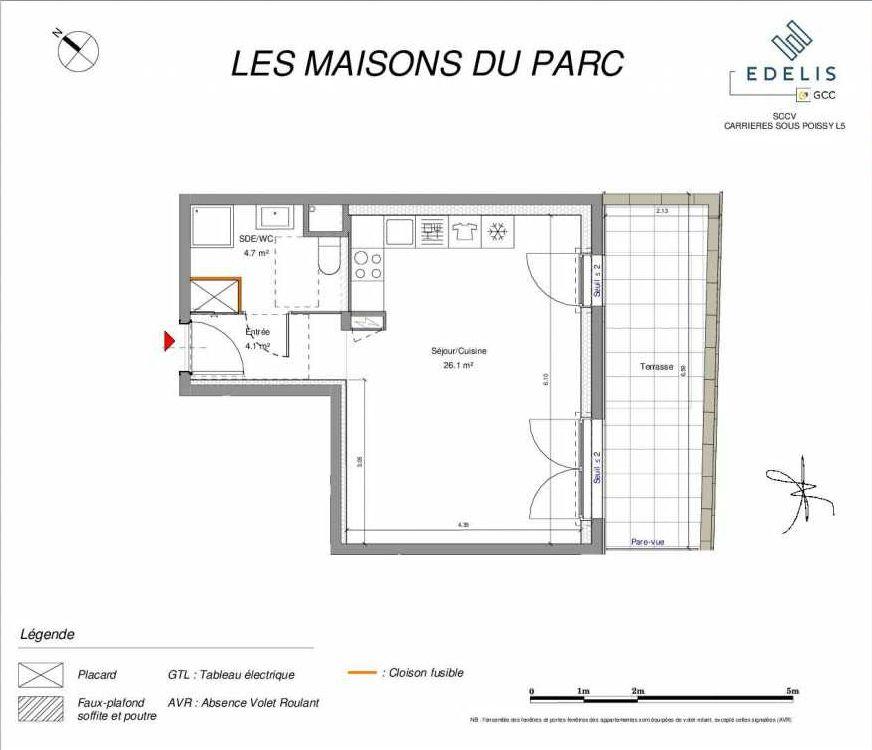 Plan recadré LES MAISONS DU PARC