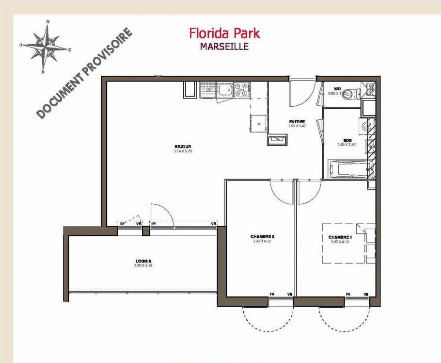 Plan recadré Florida Park